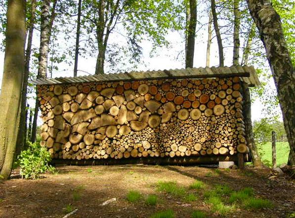 Suché drevo - správne skladovanie
